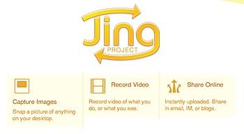 スクリーンショット&キャスト撮影のナイスなツール「Jing」
