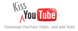 手軽にYouTube動画がダウンロードできる「KissYouTube」
