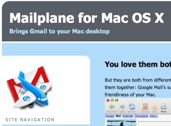 Gmail専用クライアント「Mailplane」