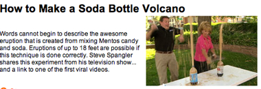 Make Volcano