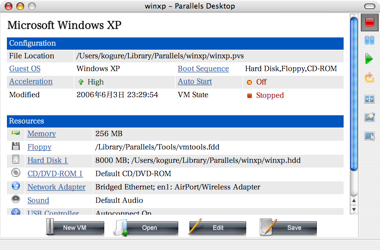 Parallels Release 1