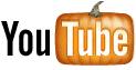 YouTubeのロゴがカボチャに!