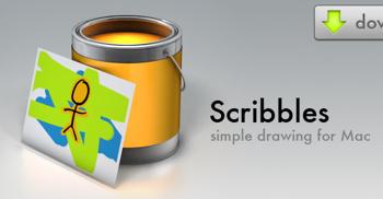 子供も使えるMac用お絵描きソフト「Scribbles」