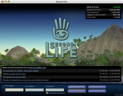 Second Life Startup