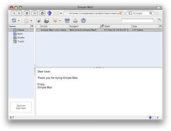 Firefoxをメーラーにする機能拡張「Simple Mail」