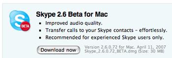 Skype2.6.1