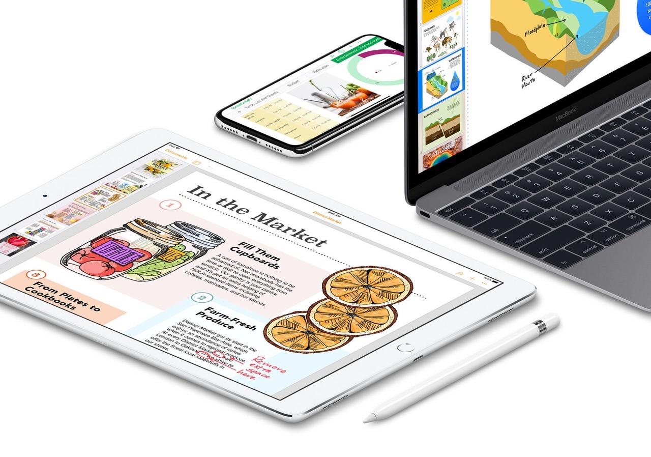 Apple「iWork」がアップデートしApple Pencilに対応と発表