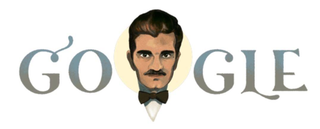 Googleロゴ「オマル・シャリーフ」