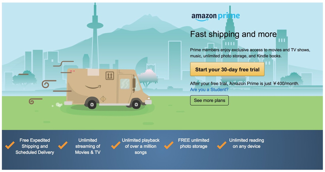 Amazonプライム会員、世界で1億人超とベゾスCEOが明らかに