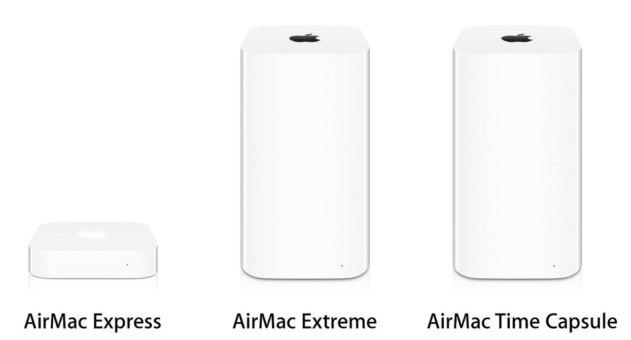 Apple、AirMacシリーズの販売を終了へ