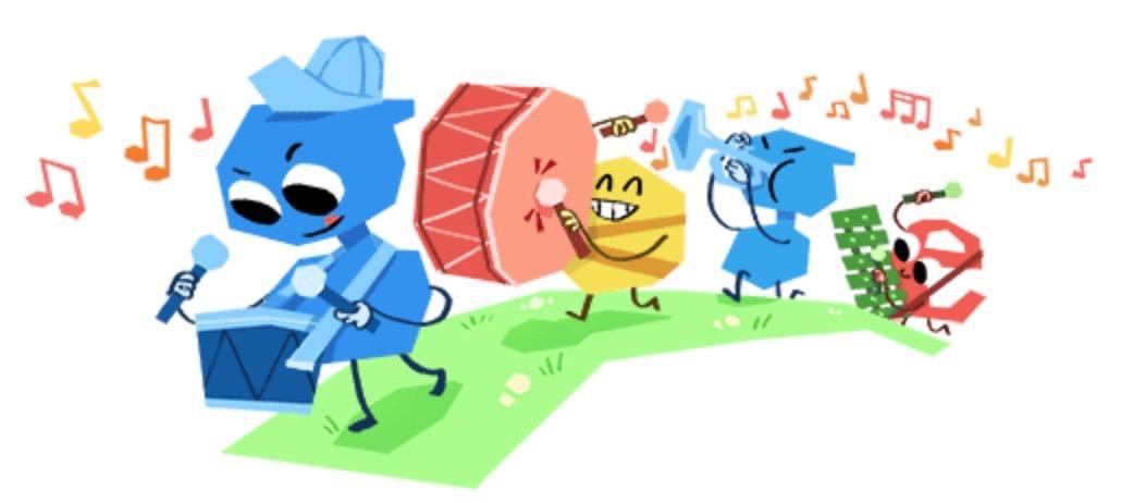 Googleロゴ「こどもの日 2018」に