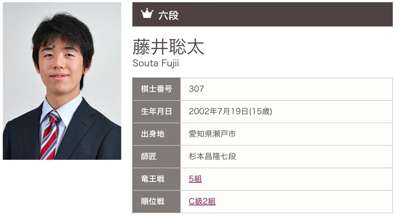 藤井聡太、七段昇段の最年少記録を61年ぶりに更新