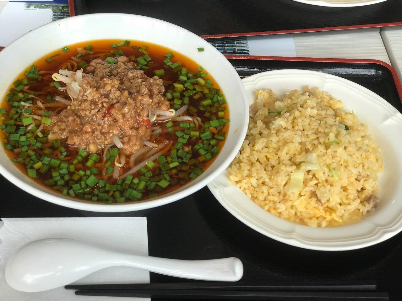 「王記厨房」の台湾ラーメン