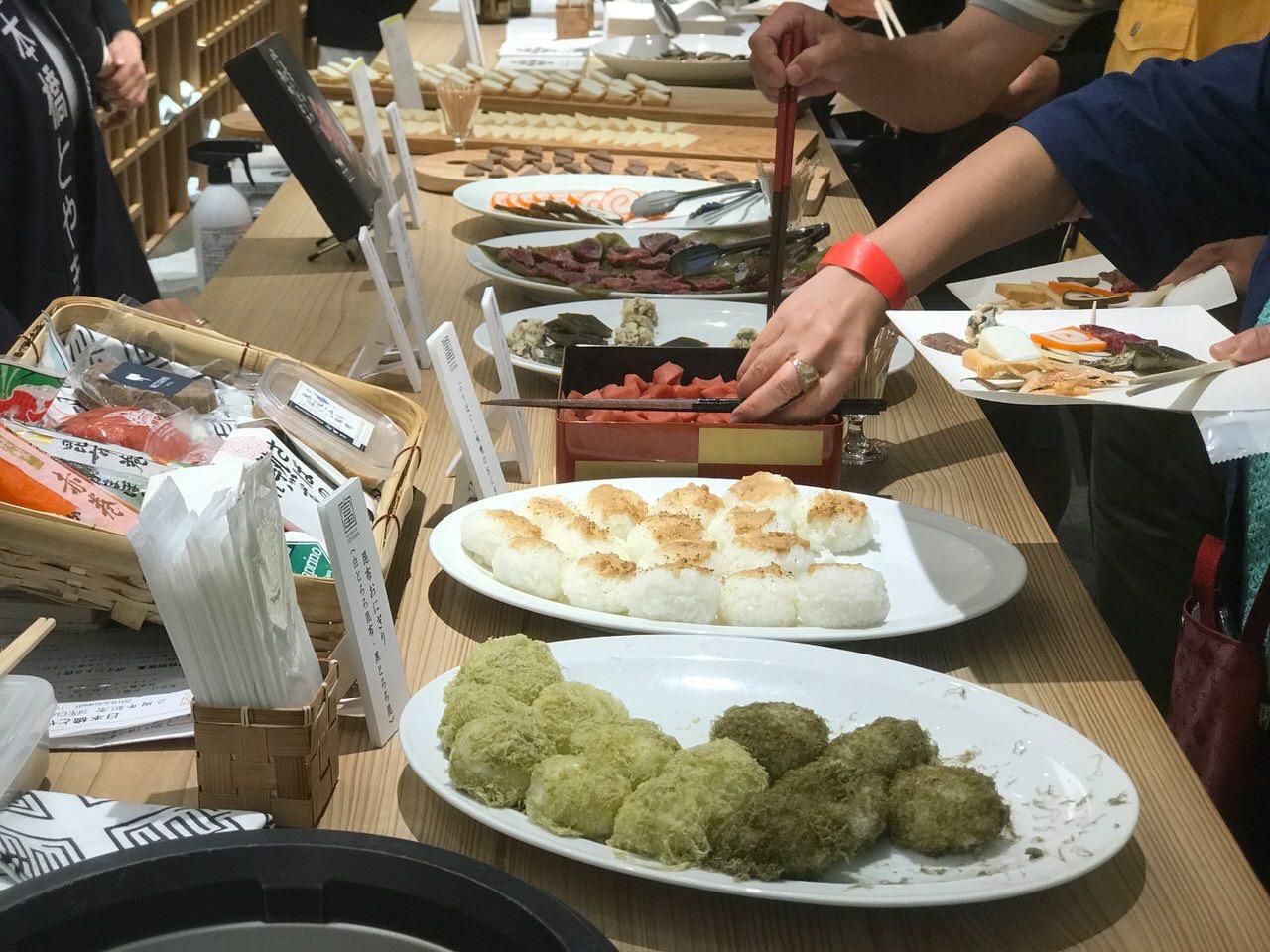 「日本橋とやま館」開館2周年記念フェア 食事