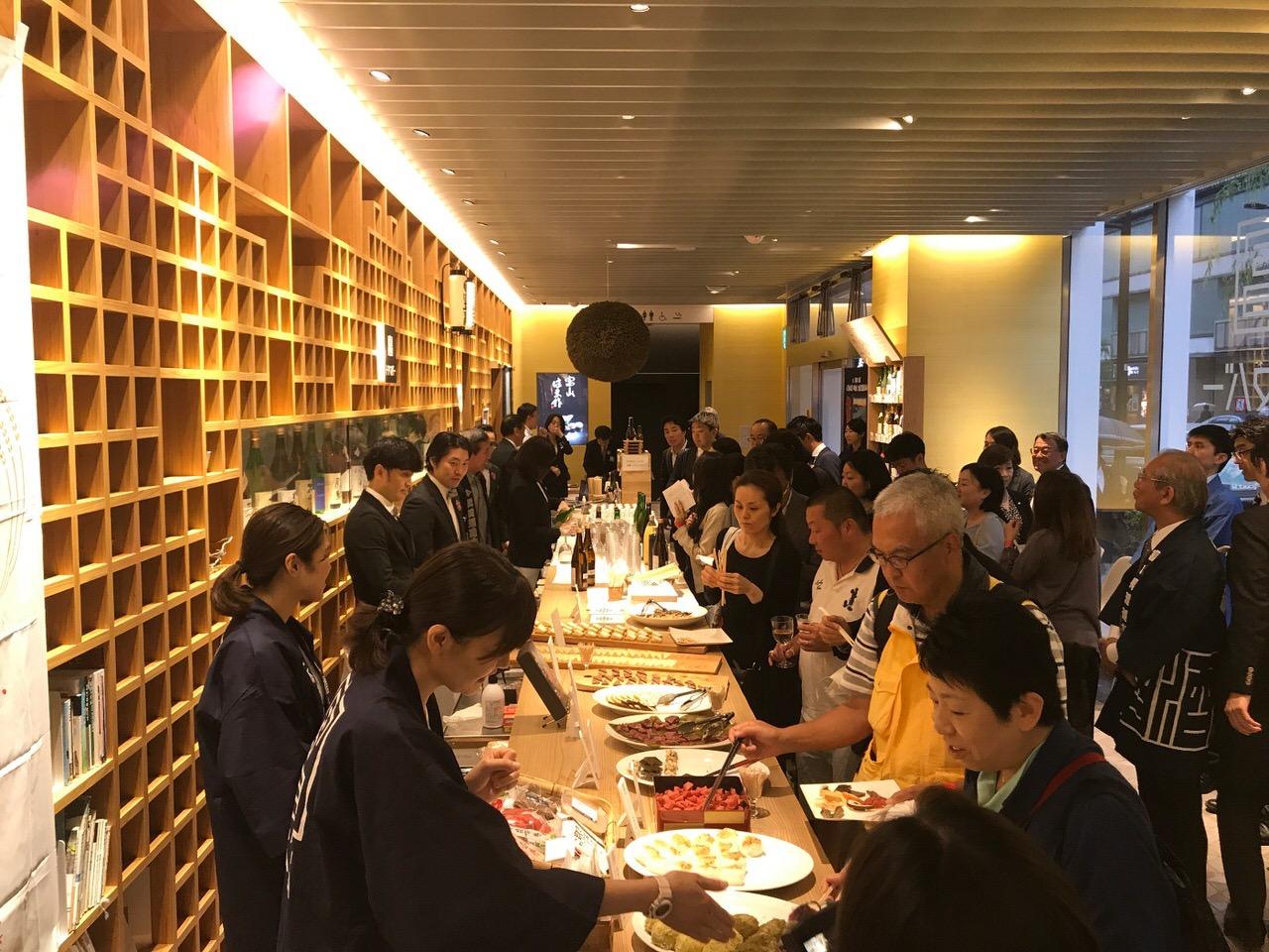 「日本橋とやま館」開館2周年記念フェア 会場