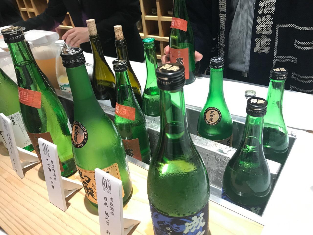 富山の日本酒