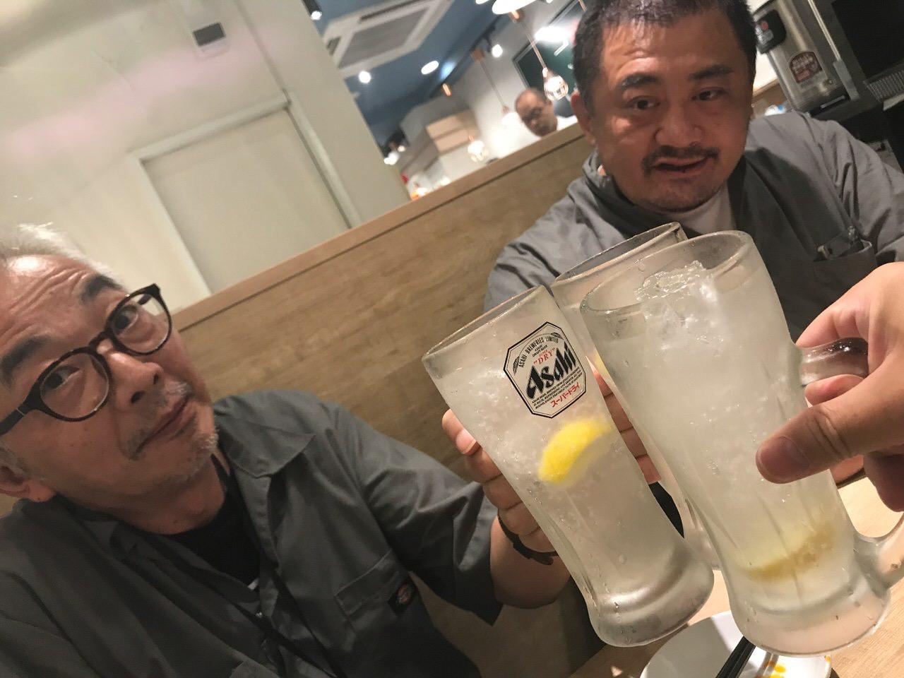 駒込餃子軒 乾杯