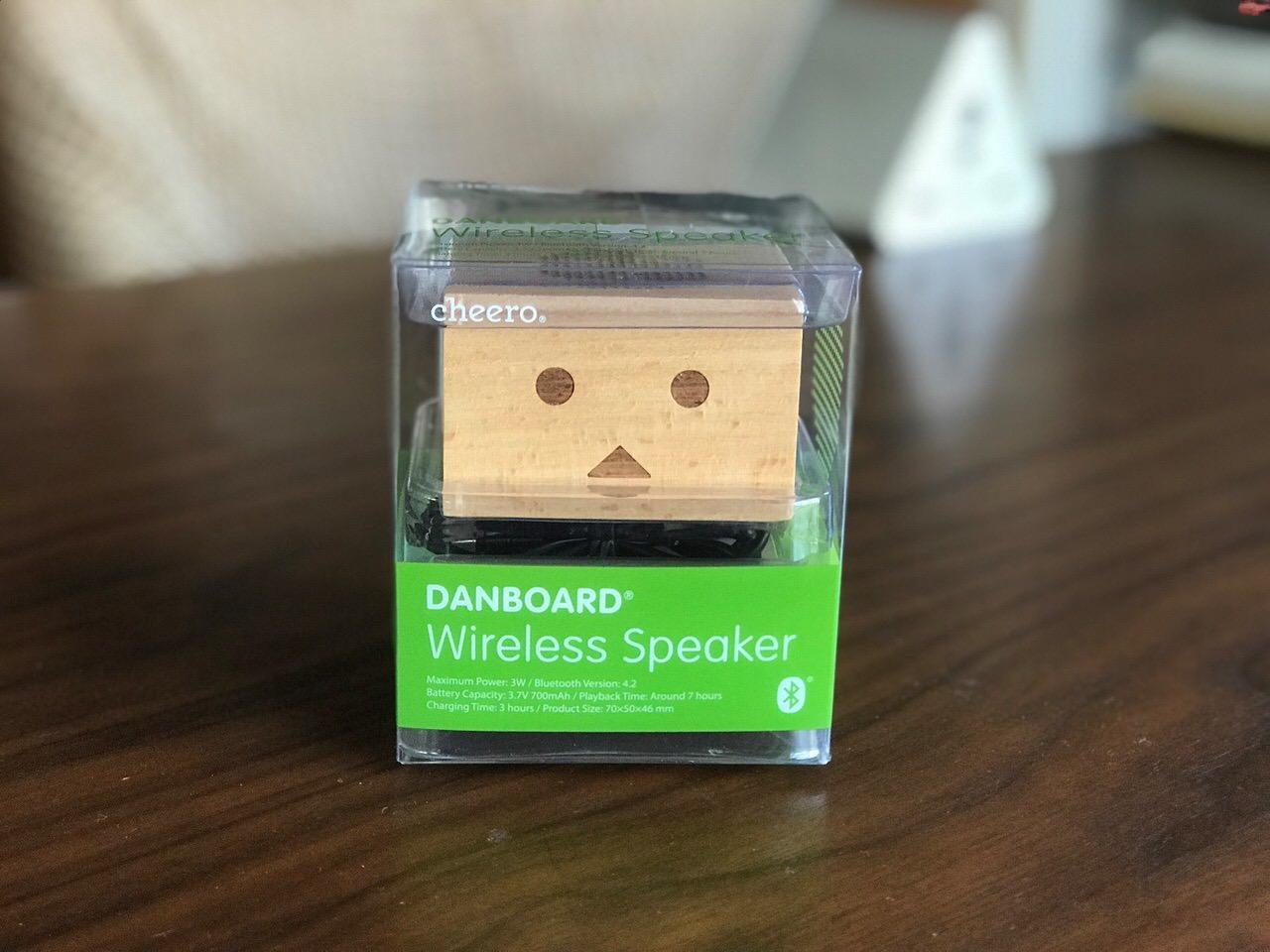 ダンボーのミニワイヤレススピーカー「cheero Danboard Wireless Speaker」
