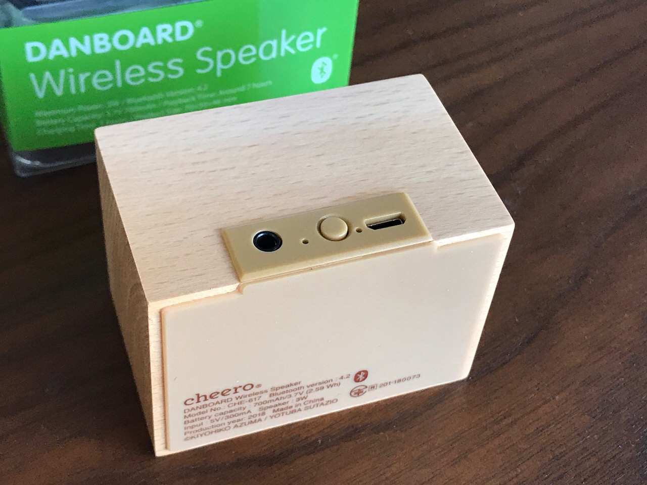 cheero Danboard Wireless Speaker 05