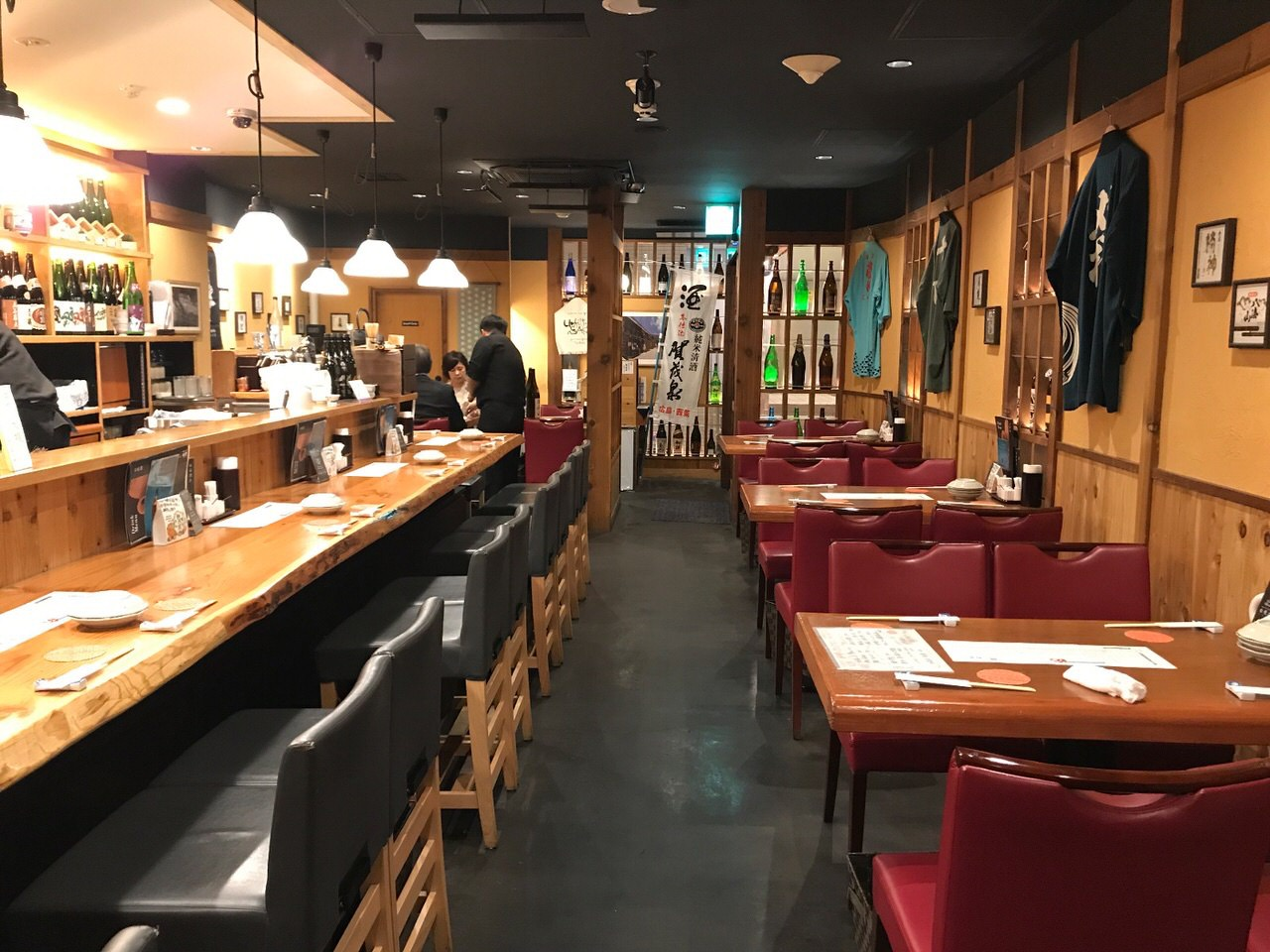神楽坂 塩梅 店内