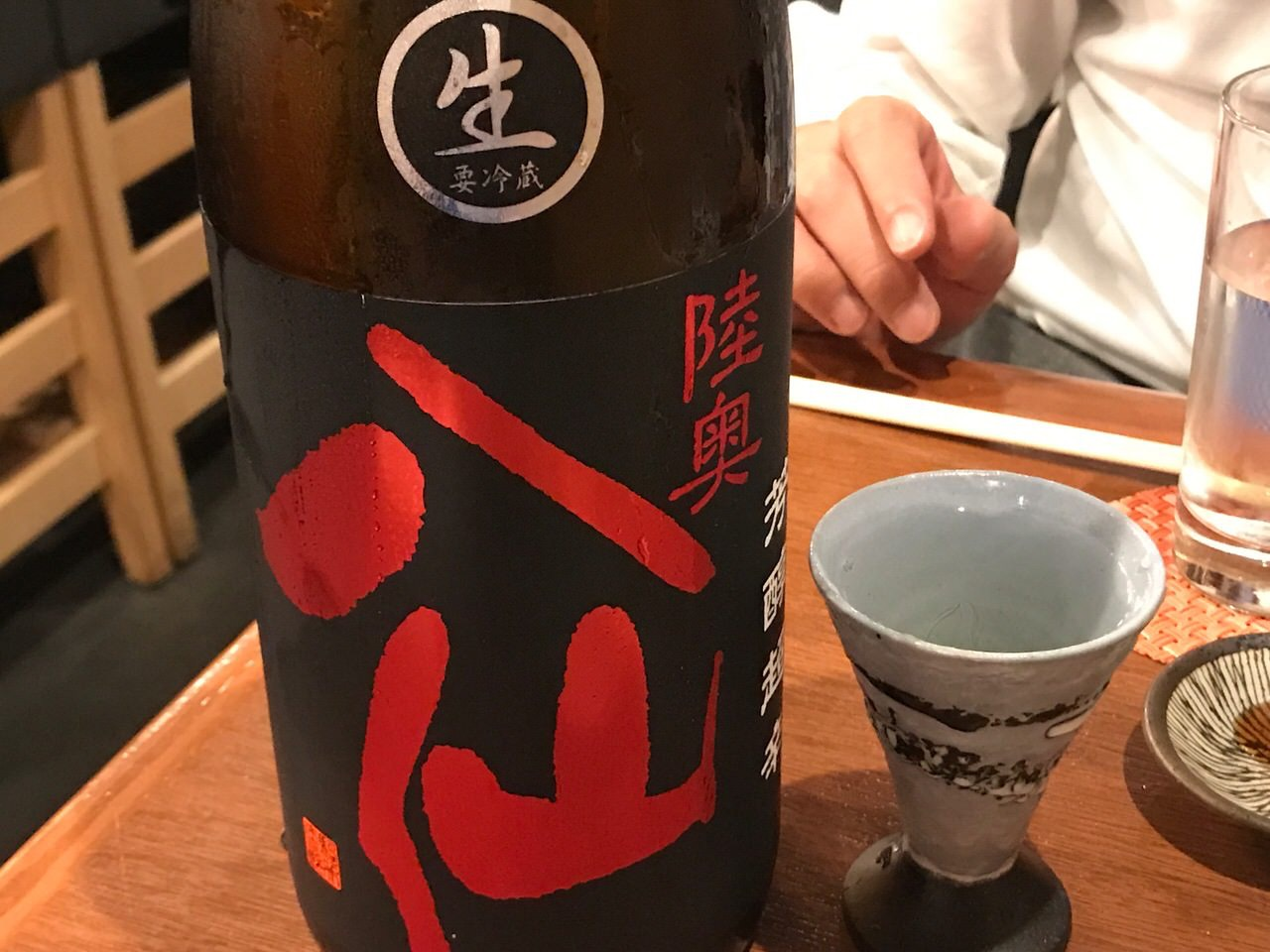 神楽坂 塩梅 日本酒