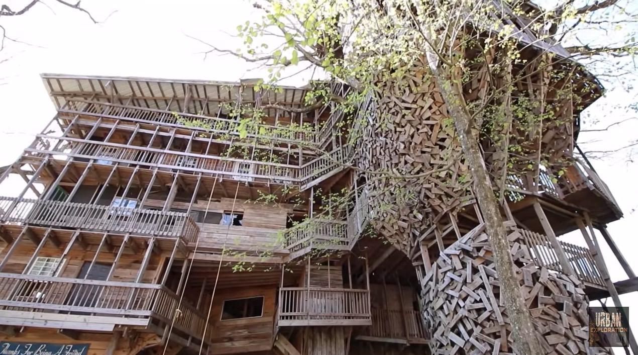 【動画】超巨大なツリーハウス‥‥なんだけどもはやツリーはどこへ‥‥