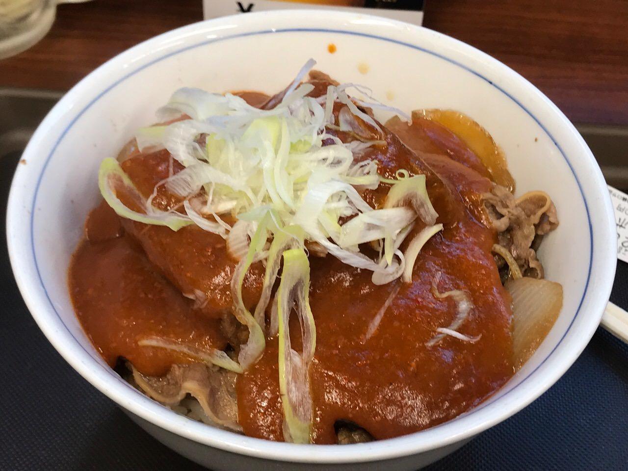 牛若丸 鬼ぎつね牛丼 06