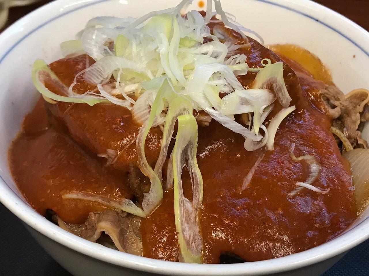 牛若丸 鬼ぎつね牛丼 07