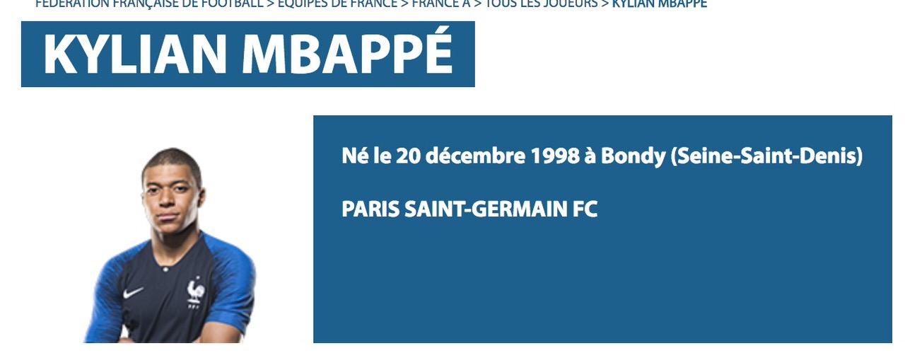 サッカーフランス代表快足FW「Mbappé」の読み方は?