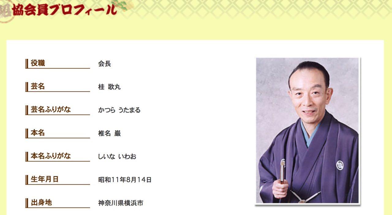 桂歌丸、死去 〜「笑点」司会、81歳で