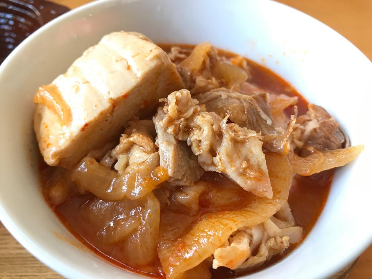 豚バラ豆腐チゲ 11