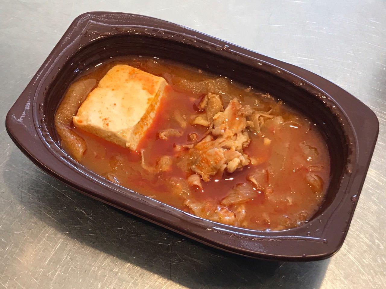 豚バラ豆腐チゲ 06