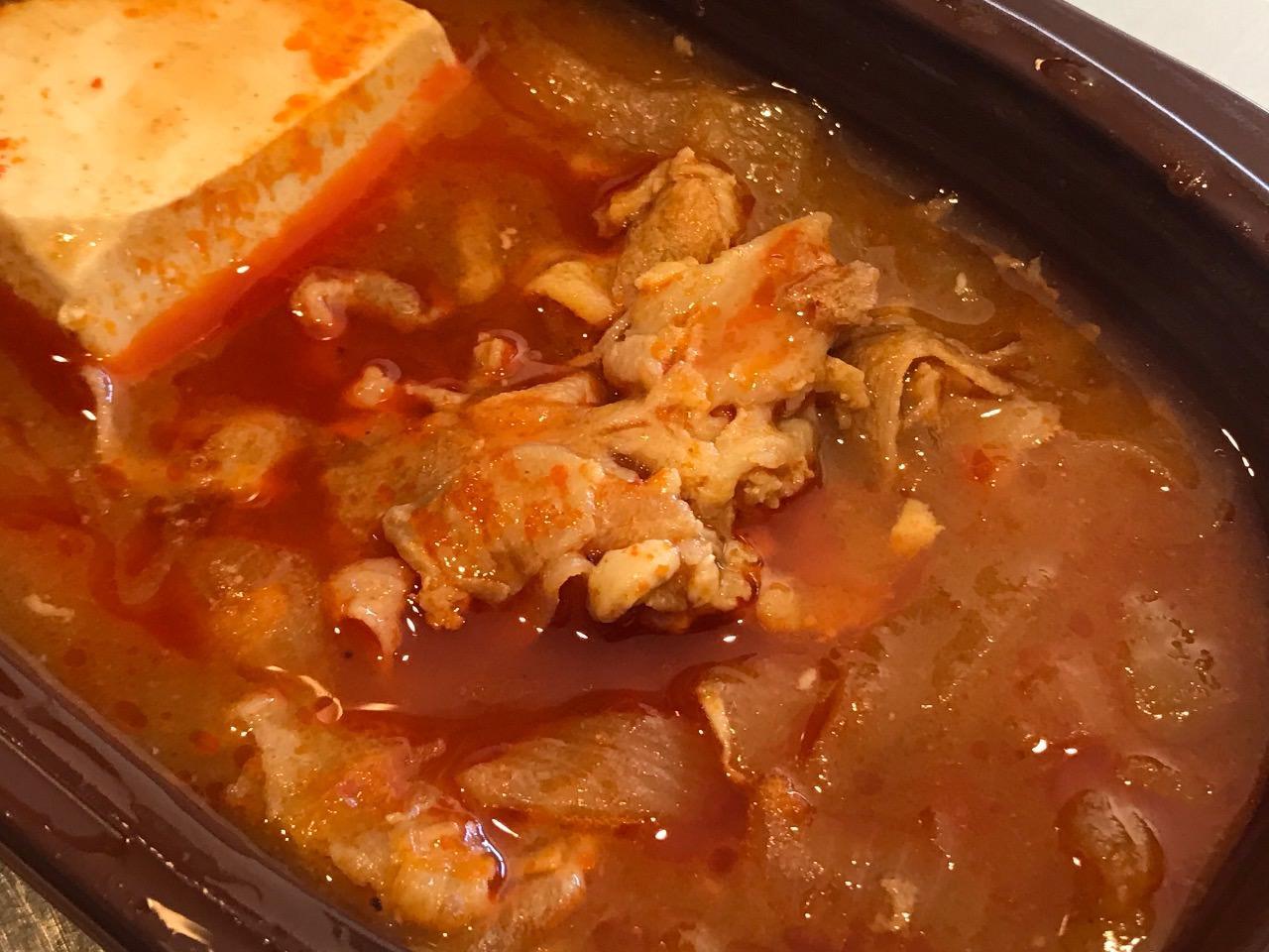 豚バラ豆腐チゲ 07