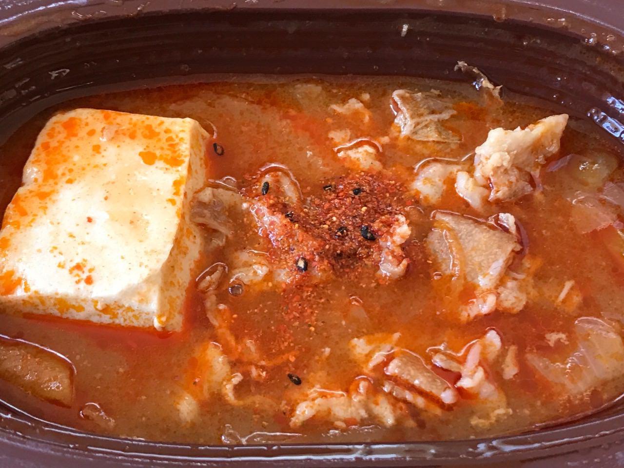 豚バラ豆腐チゲ 10