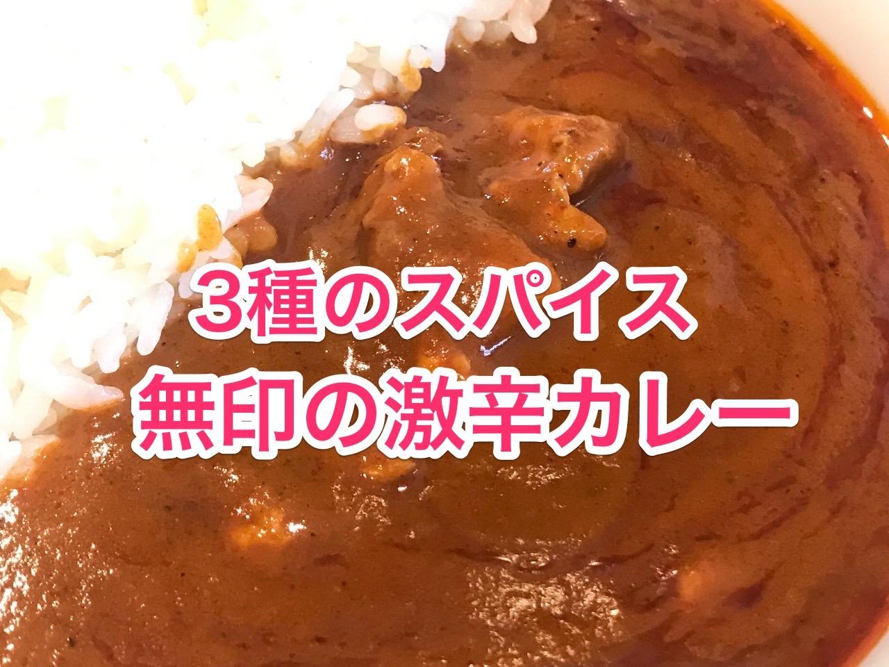 無印良品 3種の唐辛子とチキン 激辛カレー 01