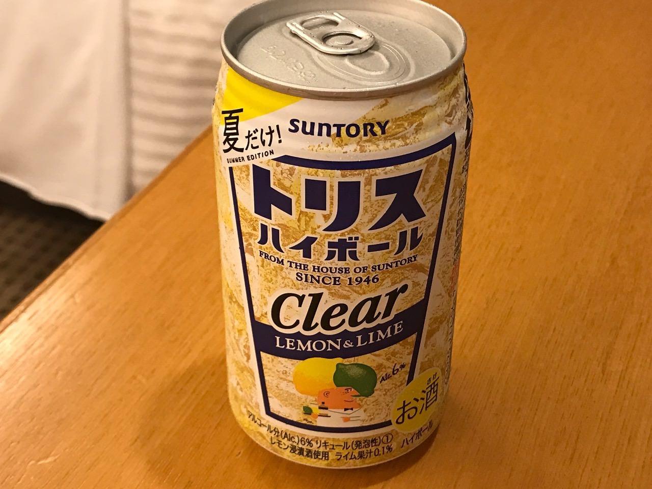夏限定「トリスハイボール缶〈レモン&ライム〉」は爽やか【感想】