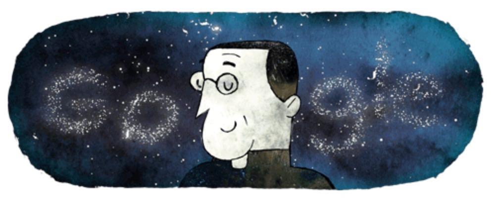 Googleロゴ「ジョルジュ・ルメートル」に