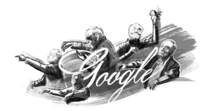 Googleロゴ「クルト・マズア」に