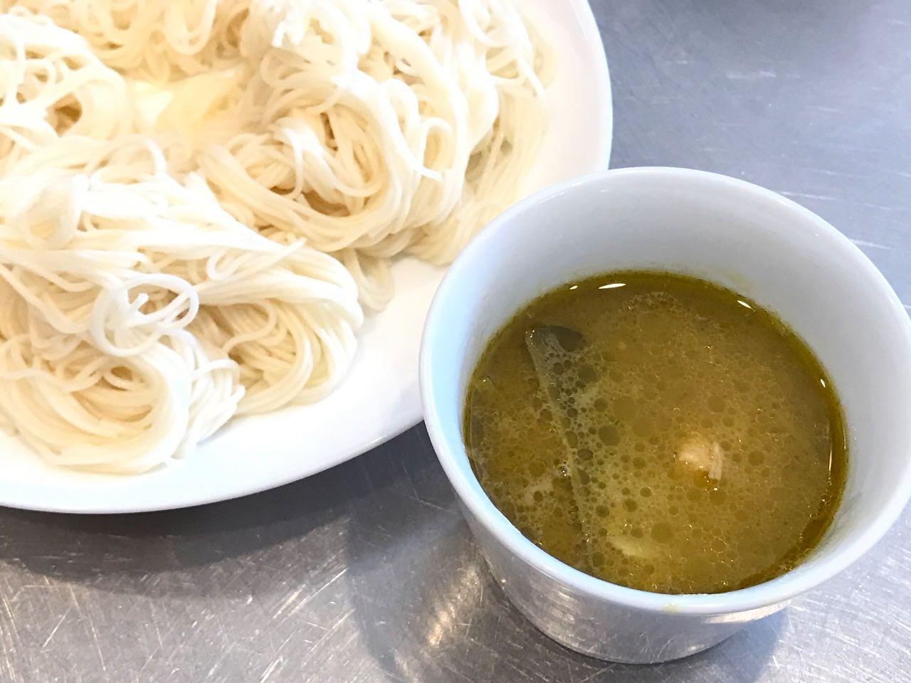 無印良品 グリーンカレー 素麺 作ってみた