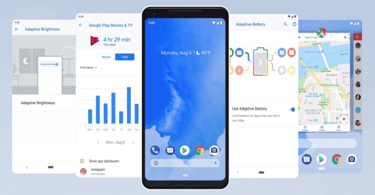 Googleが「Android 9 Pie(パイ)」を発表