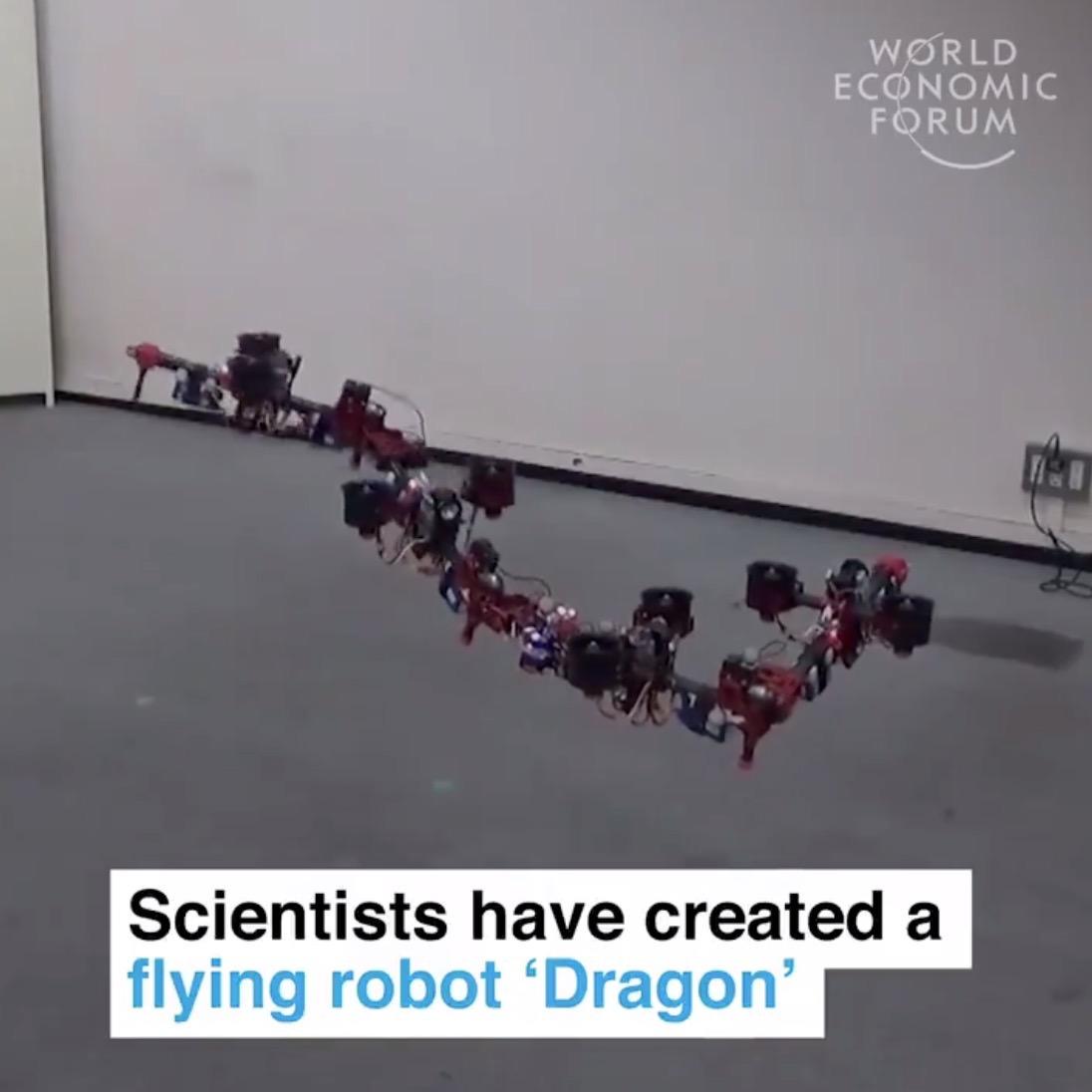 【動画】これは確かに龍!空中で変形するドローン「Dragon」