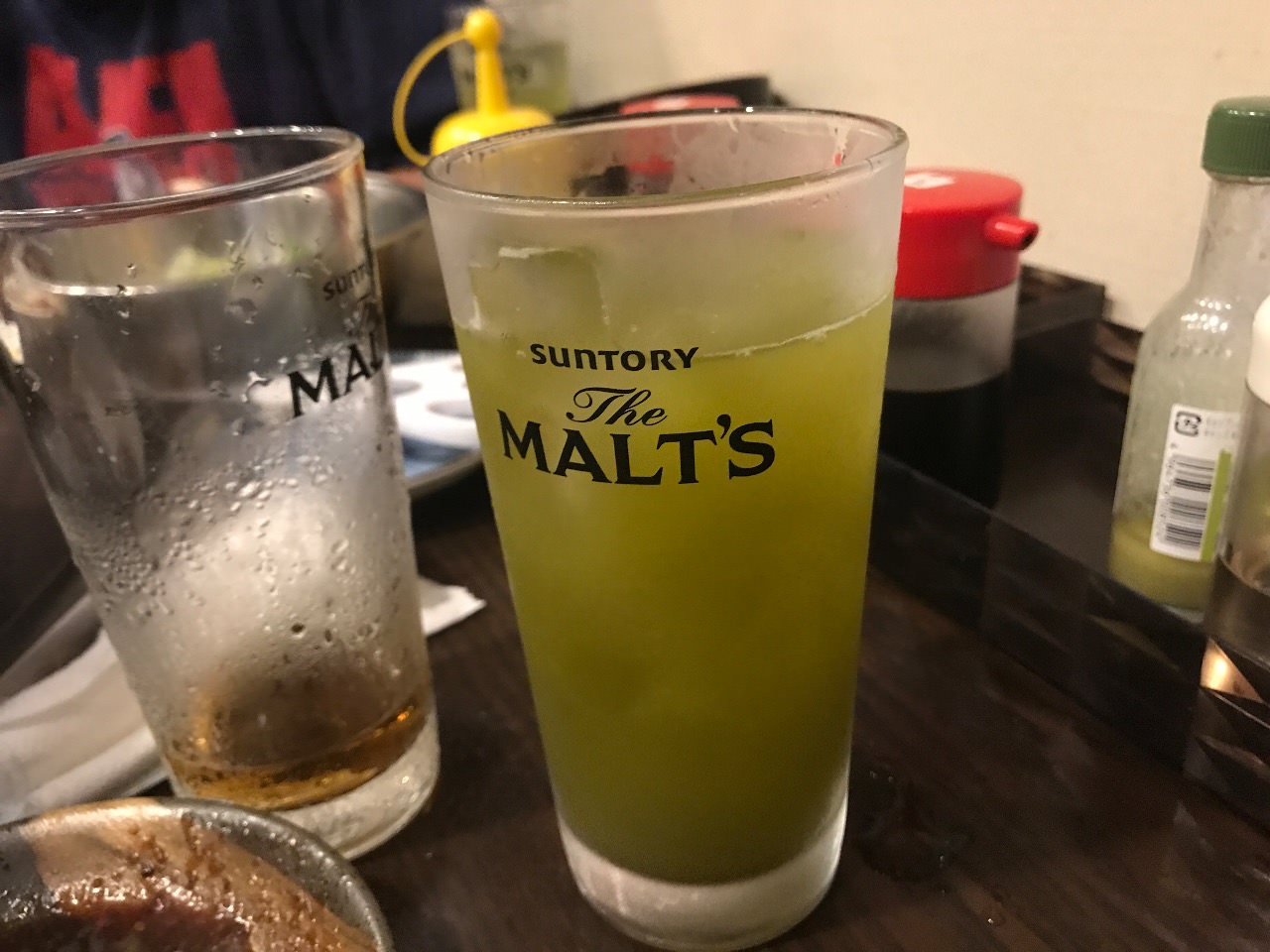 もと家の緑茶ハイ