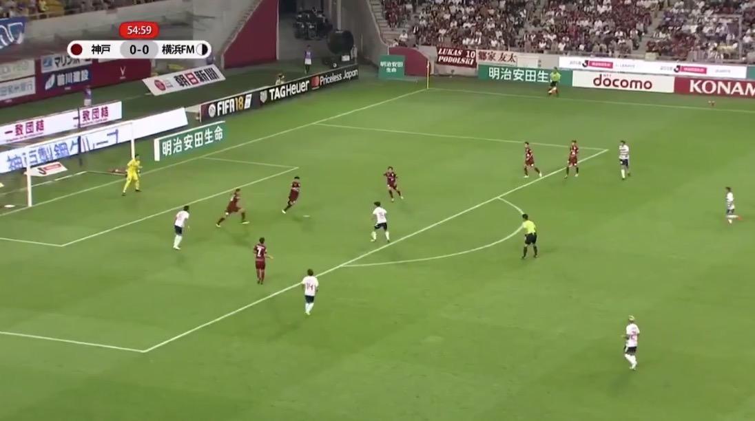 横浜Fマリノス・久保建英、17歳でJ1初ゴールを決める