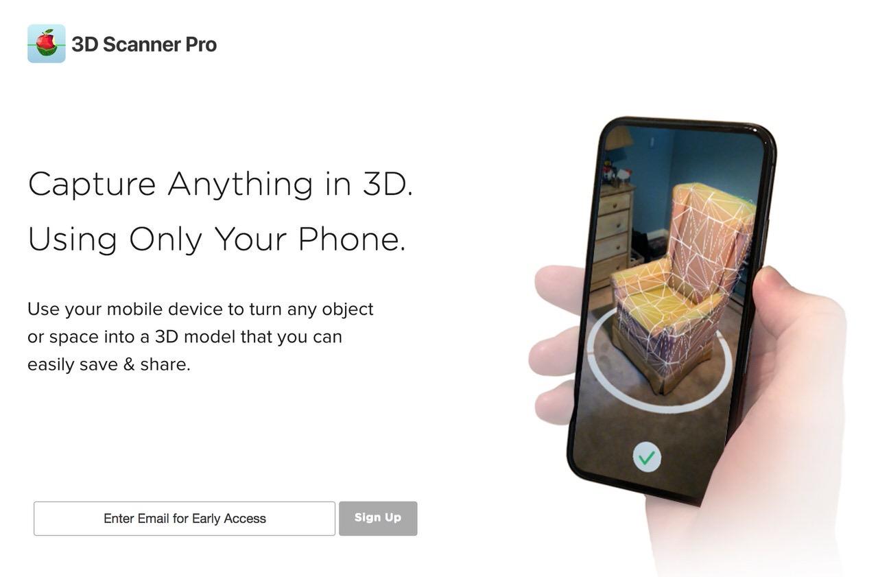 iPhoneでオブジェクトを3Dコピペするアプリ「3D Scanner Pro」のデモが凄い