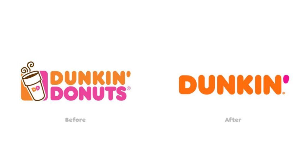 「ダンキンドーナツ」ブランド名から「ドーナツ」を削除して「ダンキン」に