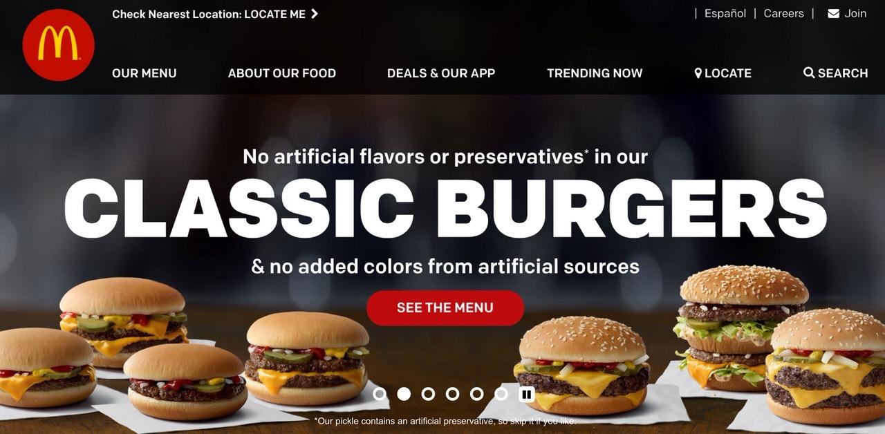 米マクドナルド、バーガーから保存料や着色料などの人工添加物を排除へ