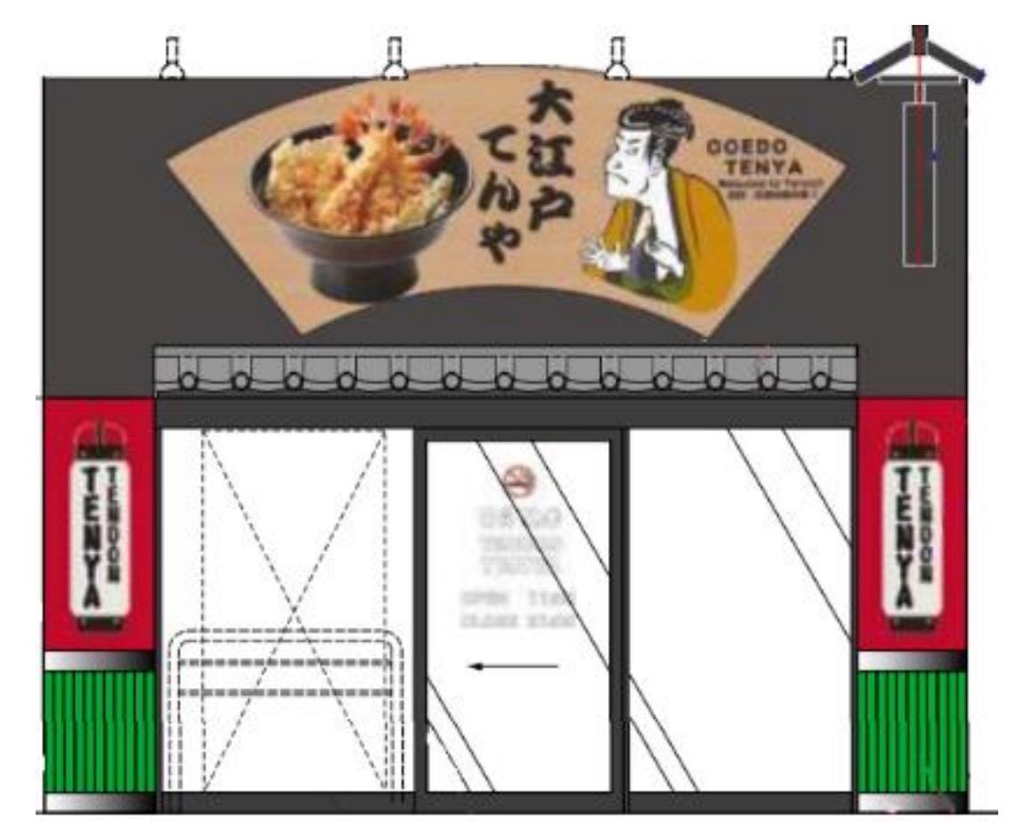訪日観光客に対応する完全キャッシュレス店舗「大江戸てんや」浅草にオープン