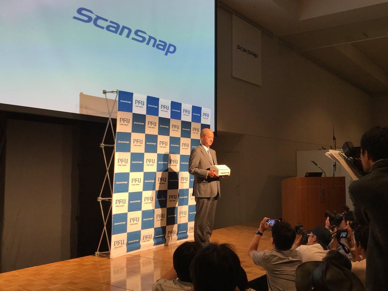 【速報】タッチパネル搭載・ワンタッチで簡単操作「ScanSnap iX1500」発表会レポート #ScanSnap