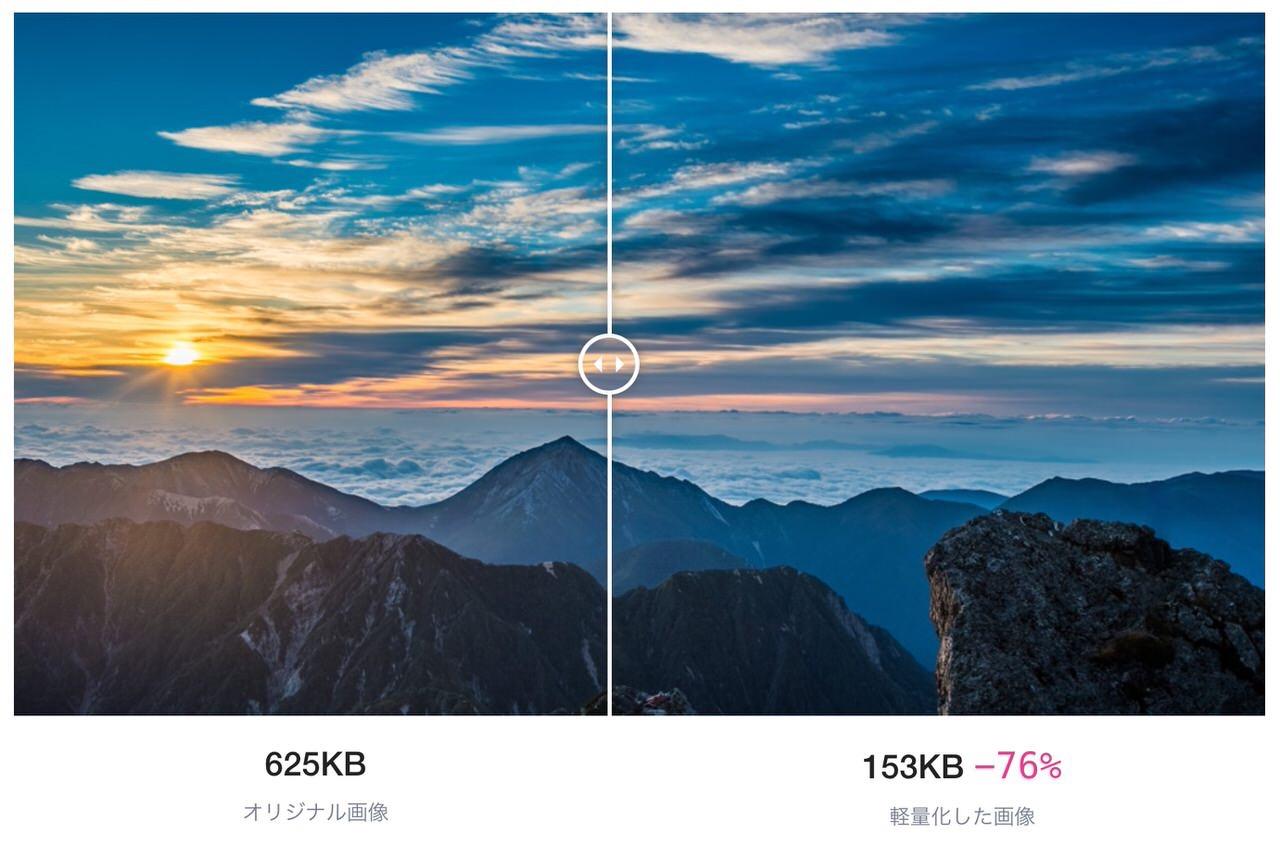 AIでDropboxの専用フォルダ内のJPEG写真を圧縮する「LightFile for Dropbox」