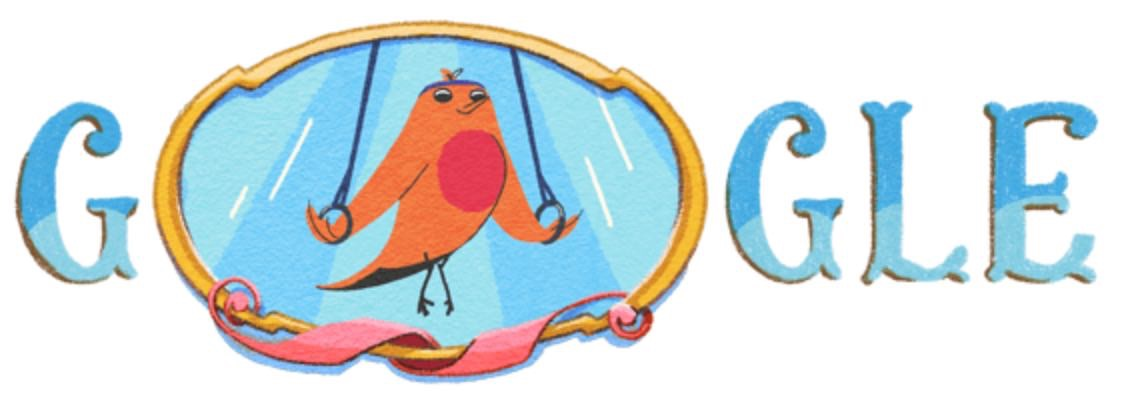 Googleロゴ「ブエノスアイレスユースオリンピック 2018」に